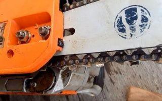 Натяжка цепи на бензопиле пошагово — как она должна быть натянута
