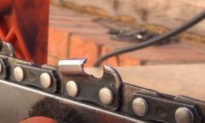 Как наточить цепь на бензопиле: инструкция по заточке разными способами